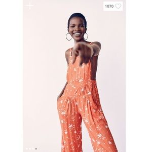 Free People Sweet In The Streets OnePiece Jumpsuit